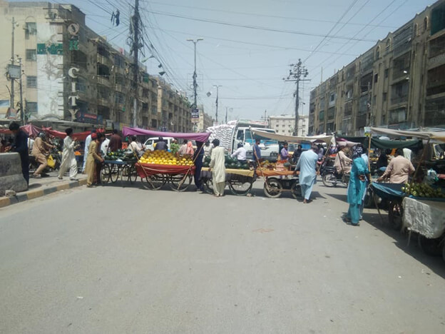 Sindh government imposed a lockdown in the province due to Covid-19