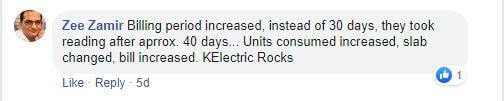 k electric surcharge reason