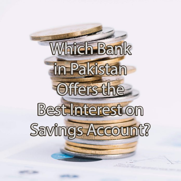 best interest rate on savings account in pakistan