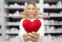 5 Easy Ways to Reduce your Cholesterol